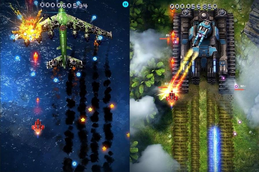 skyforce2014-android-ios-2 Sky Force 2014 surpreende com gráficos incríveis e jogatina offline