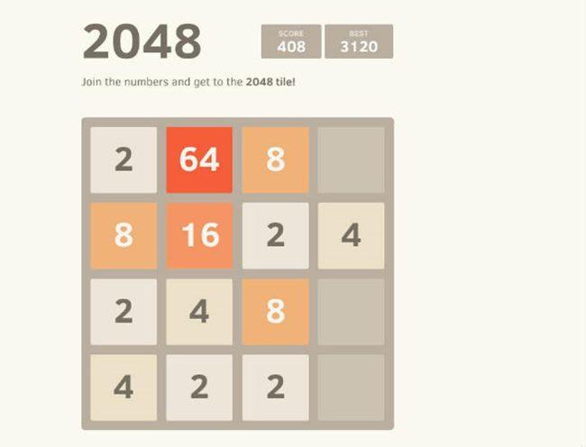 2048-windows-phone 25 Melhores Jogos Grátis para Windows Phone - 1º Semestre de 2014