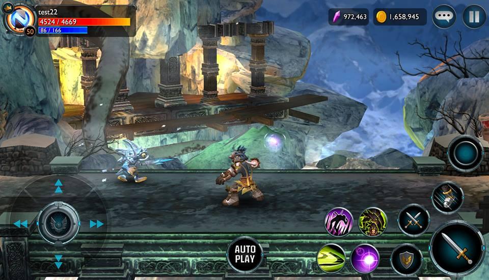 ChronoBlade-android ChronoBlade, jogo de beat'em up do Facebook, vai chegar ao Android