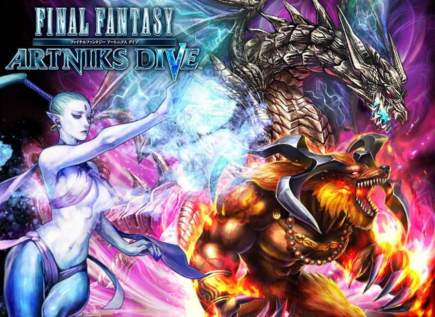 Final-Fantasy-Artniks-Dive-android-ios Final Fantasy Artniks Dive: Novo FF gratuito para Android e iOS