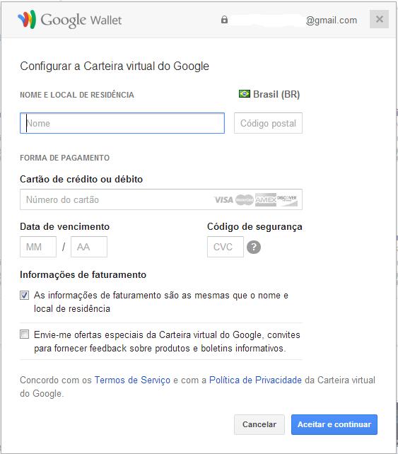 """Google-Wallet Como Comprar Jogos na Google Play """"Sem Cartão de Crédito"""" (novo método / MeoCartão)"""