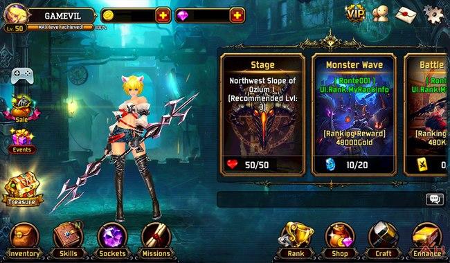 Kritika-SS-1 Kritika: Chaos Unleashed - Jogo grátis traz ação e ótimos gráficos ao Android e iOS