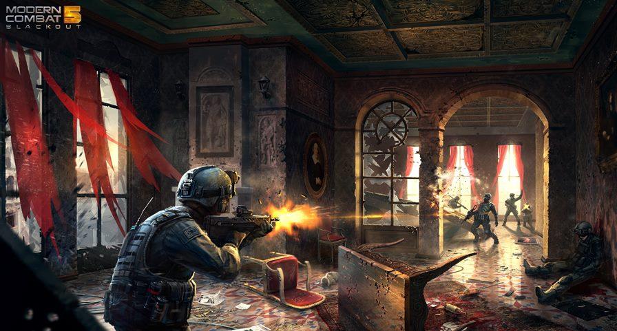 Modern Combat 5 chega dia 24 de Julho ao Android e iOS
