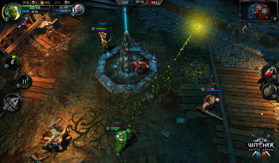 The_Witcher_Battle_Arena_Eithne_Dagger_of_Thorns_logo The Witcher: Battle Arena será um MOBA para Android, Windows Phone e iOS; confira!