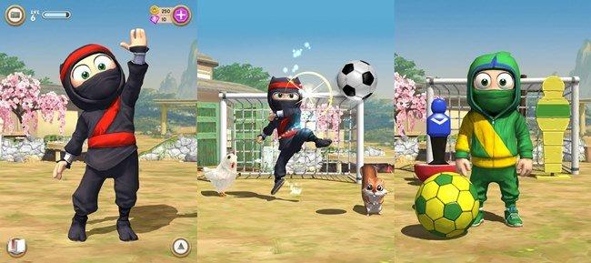 clumsy-ninja-android 25 Melhores Jogos Offline Grátis para Android #4