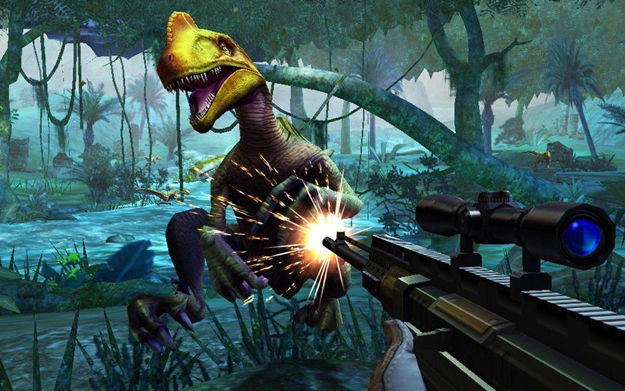 dino-hunter Jogos Grátis para Android e iOS - Dino Hunter