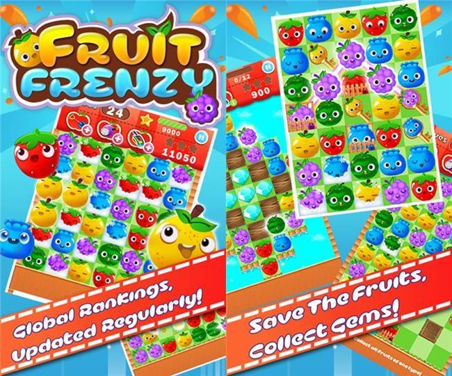 fruit-frenzy 25 Melhores Jogos Grátis para Windows Phone - 1º Semestre de 2014