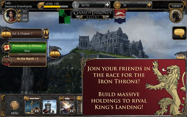 game-of-thrones-android Game of Thrones Ascent chega ao Android