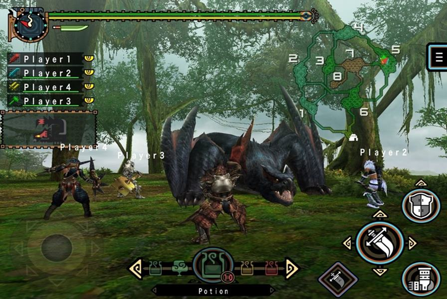 monster-hunter-freedom-unite Monster Hunter Freedom Unite chega ao iPhone e iPad