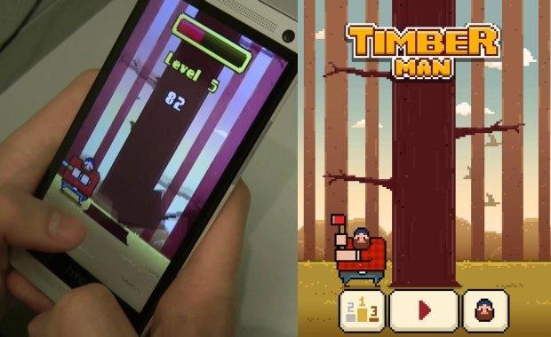 timberman-android-ios Melhores Jogos para Android Grátis - Julho de 2014