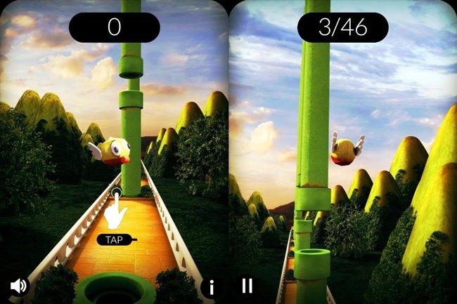Flappy-3d Melhores Jogos para Android Grátis - Junho de 2014