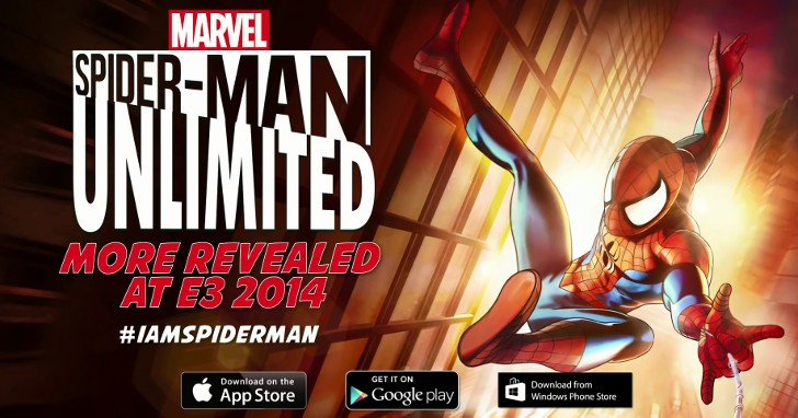 Spider-Man Unlimited Trailer da Comic-con (iOS / Android / Windows Phone) Trailer