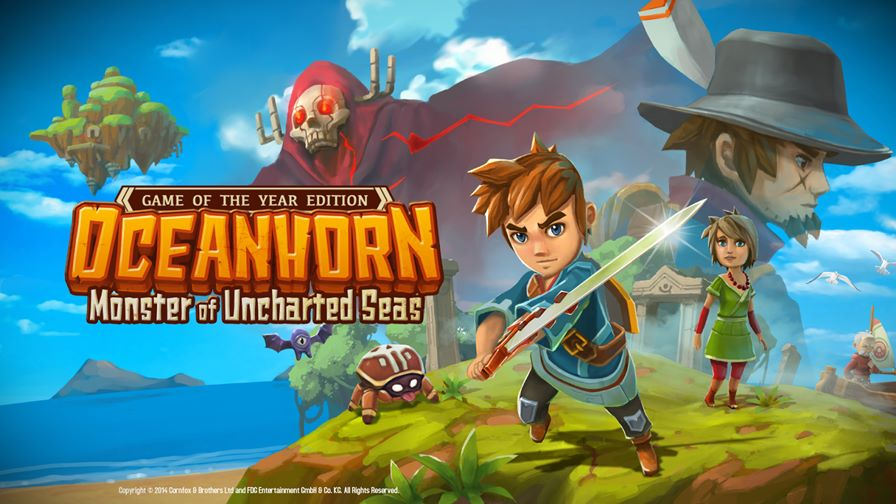 """Oceanhorn-wallpaper-GOTY Oceanhorn: Atualização """"Gamer of the Year"""" já está disponível (iPhone, iPod Touch e iPad)"""