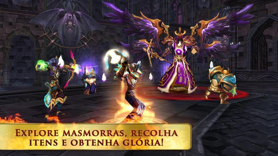 Order-chaos-online-android-ios Order & Chaos Online, MMORPG da Gameloft, agora é gratuito! (Android e iOS )