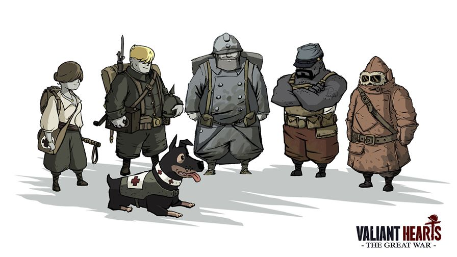 Valiant-Hearts-The-Great-War Valiant Hearts: The Great War também será lançado para iPhone e iPad