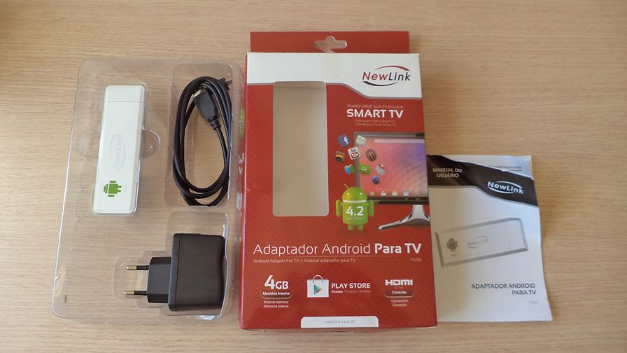 adaptador-newlink-tv101-android Android TV: Testamos o Stick HDMI NewLink TV101 - Primeiras impressões