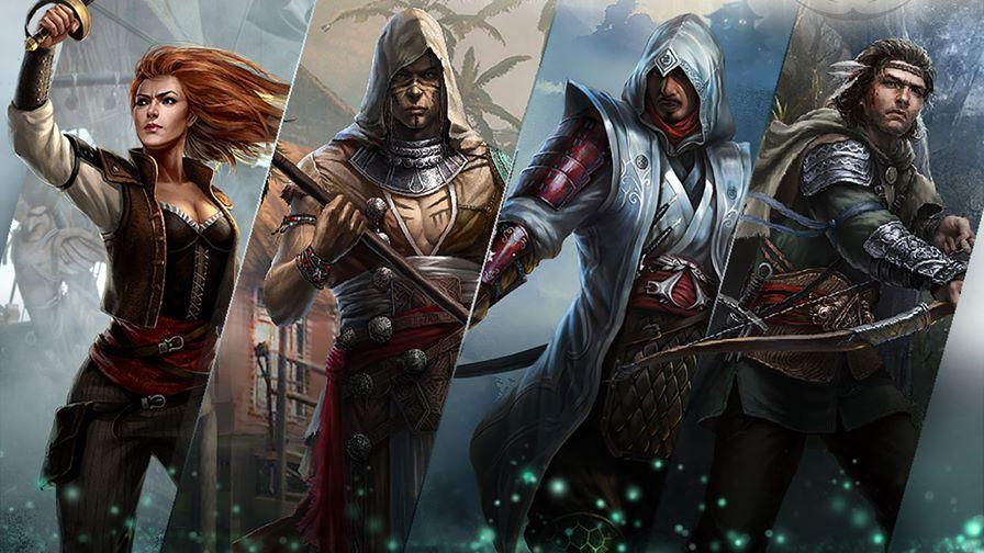assassins-creed-memories-1280 Assassin's Creed Memories é um adventure card game para iPhone e iPad