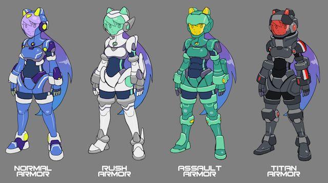 "brilhantgirl-android-ios-2 Brilliant Girl será um ""Mega Man"" para smartphones e tablets"