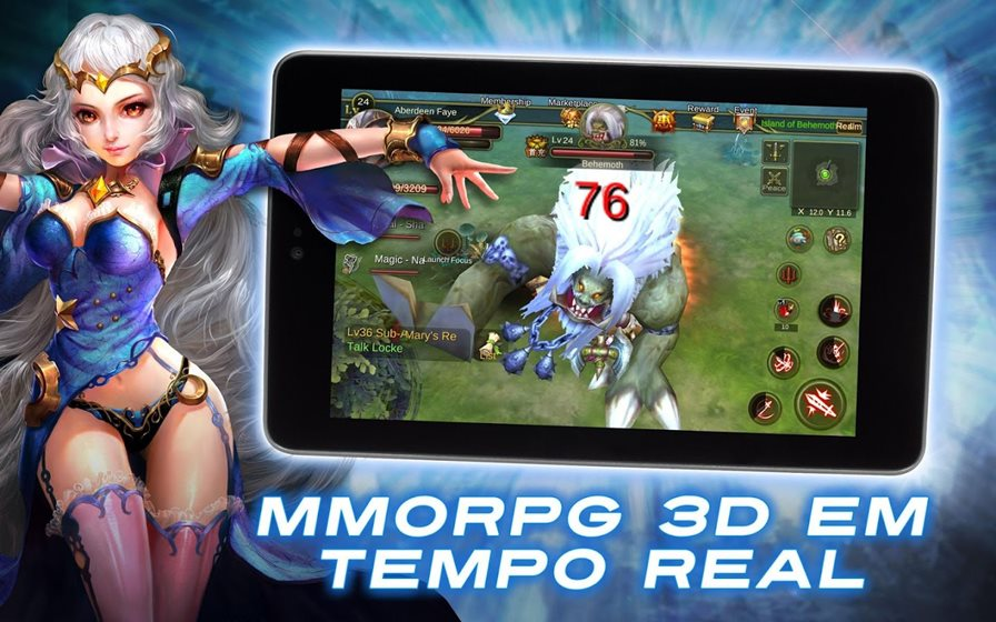 dawn-of-immortals-android Dawn of Immortals é um MMORPG dos mesmos criadores de Perfect World (Android e iOS)