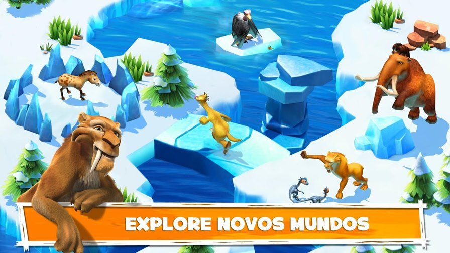 era-do-gelo-aventuras-android Jogo Grátis para Android e iOS - A Era do Gelo: Aventuras (Gameloft)