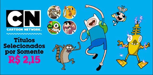 promocao-cartoon-network-android Jogos da Cartoon Network para Android em promoção