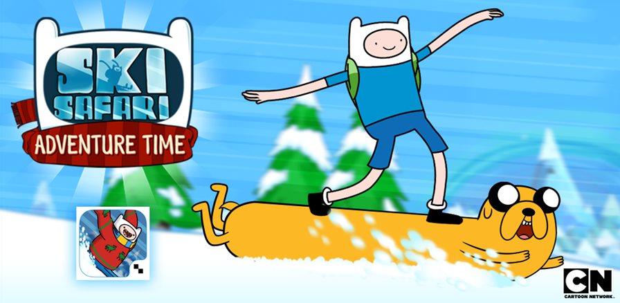 """ski-safari-adventure-time-android Jogo de """"Hora de Aventura"""" para Android está gratuito na Amazon App Store"""