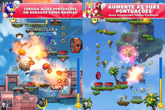 sonic-jump-fever-android Melhores Jogos para Android Grátis - Julho de 2014