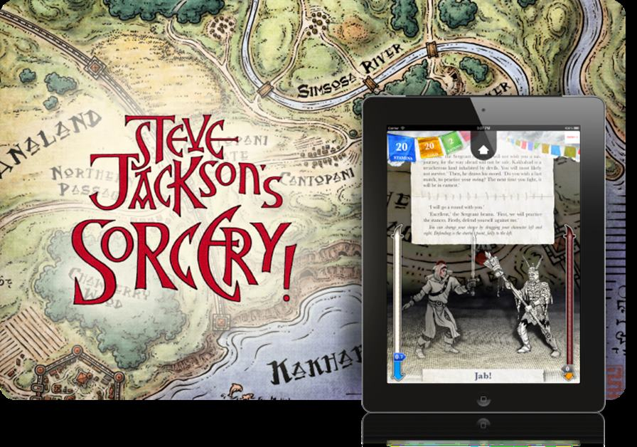 sorcery-ios Sorcery: Adventure Clássico está gratuito por tempo limitado (Android)