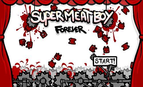 super-meat-boy-forever-6 Criadores de Super Meat Boy vão lançar continuação do jogo para Celular e Tablets