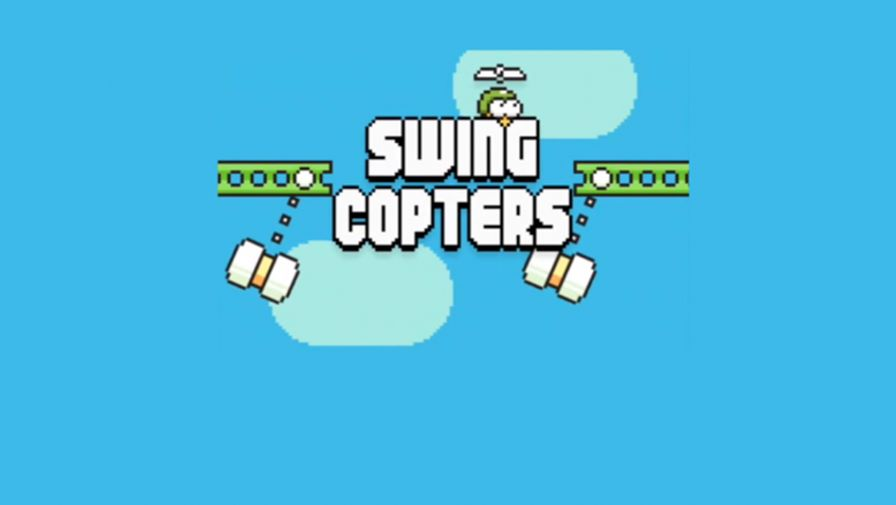 swing-copters-android-ios Jogos para Android e iOS Grátis - Swing Copters