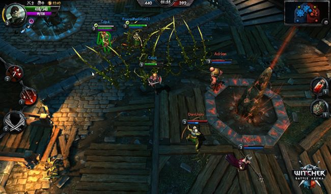 the-witcher-android-ios-windows-phone The Witcher Battle Arena: confira o gameplay do MOBA para Android, iOS e Windows Phone