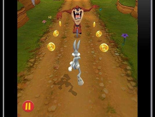 1410866021000-Looney-Tunes-Dash_Bugs-and-Taz Looney Tunes Dash! é um runner com Pernalonga e seus amigos