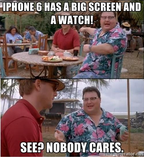 """54264063 Usuários do iPhone e o admirável mundo """"novo"""" das telas grandes"""