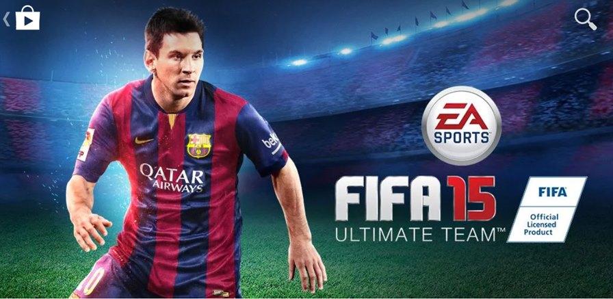 FIFA15-android FIFA 15 chega primeiro ao Android