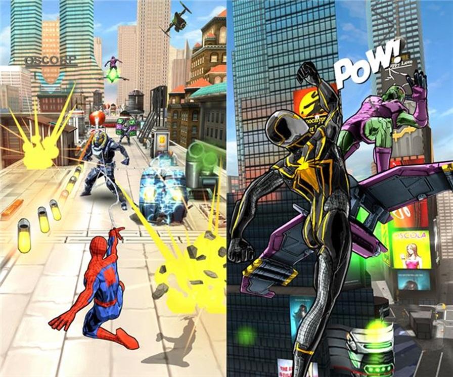Homem-aranha-sem-limites-android-wp-ios-1 Gameloft lança jogo casual do Homem-Aranha em português