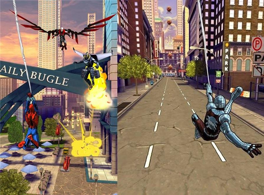 Homem-aranha-sem-limites-android-wp-ios-2 Gameloft lança jogo casual do Homem-Aranha em português