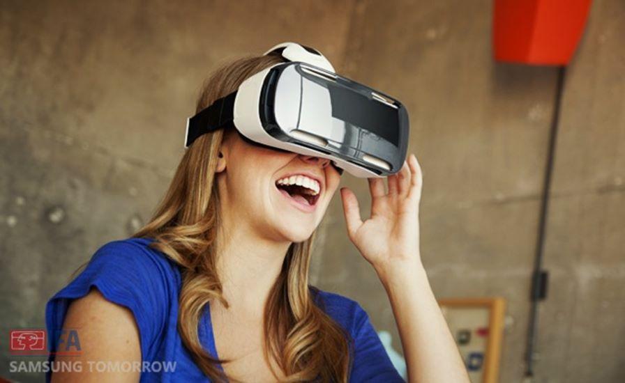 Samsung-Gear-VR Inovação: O Futuro dos Jogos Mobile Segundo a Samsung