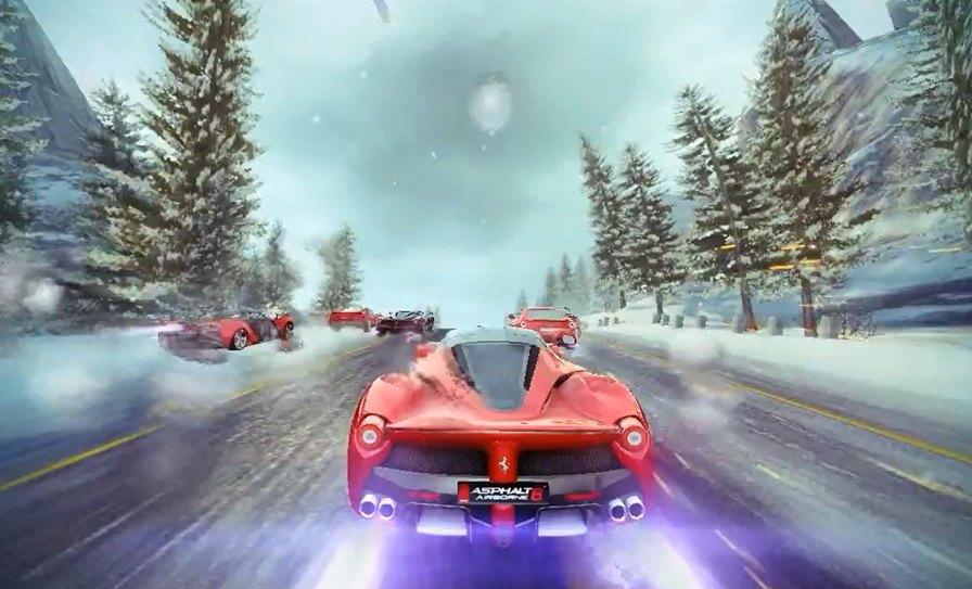 """asphalt-8-metal Asphalt 8: Tecnologia """"Metal"""" para iOS deixa o jogo com gráficos inacreditáveis"""