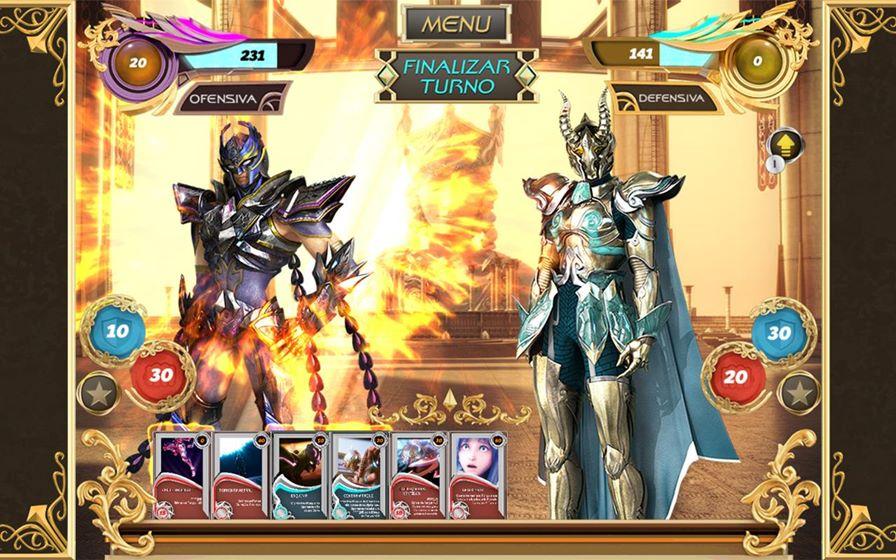 cavaleiros-do-zodiaco-cards-android-2 Melhores Jogos para Android Grátis – Setembro de 2014