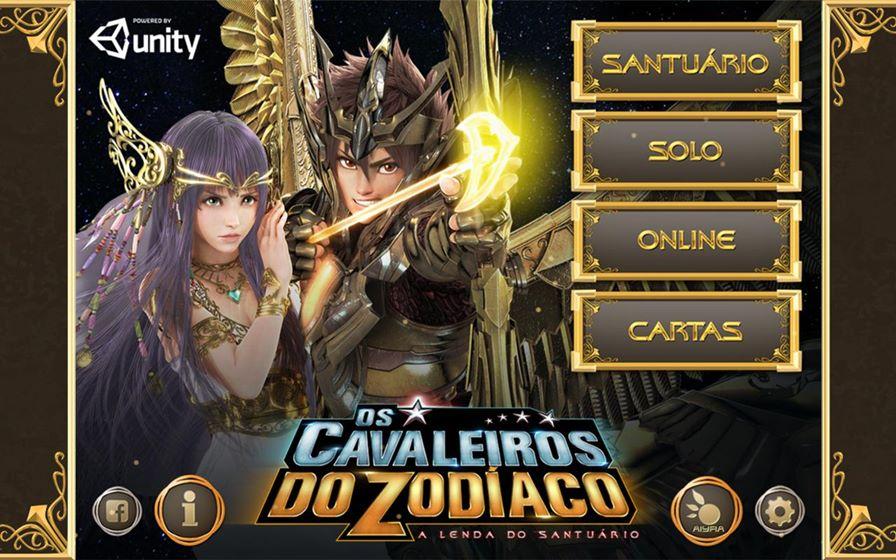 cavaleiros-do-zodiaco-cards-android Cavaleiros do Zodíaco: Jogo Grátis do filme chega ao Android