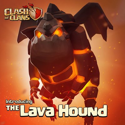 clash-of-clans-lavahound-android-ios Clash of Clans: nova tropa revelada, Lava Hound