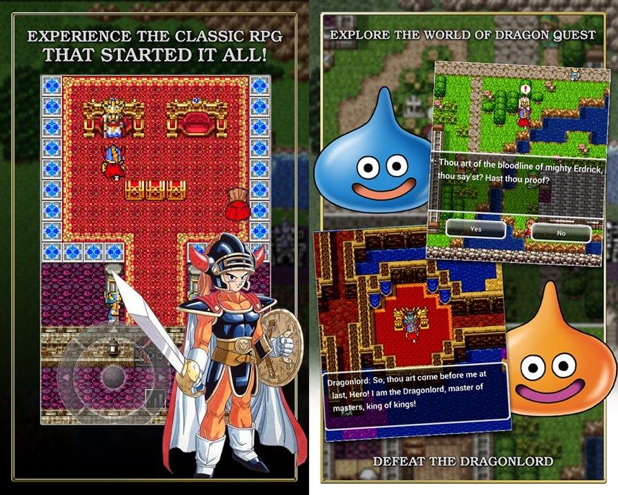 dragon-quest-1-android-ios-2 Primeiro Dragon Quest ganha versão para celulares e preço acessível