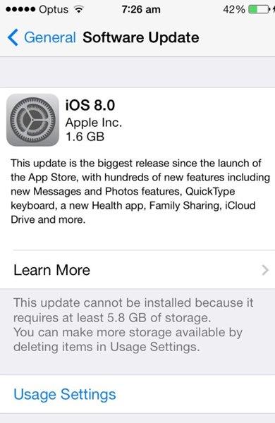 """ios-8-1 iOS 8: A Fragmentação """"Programada"""" do iOS"""