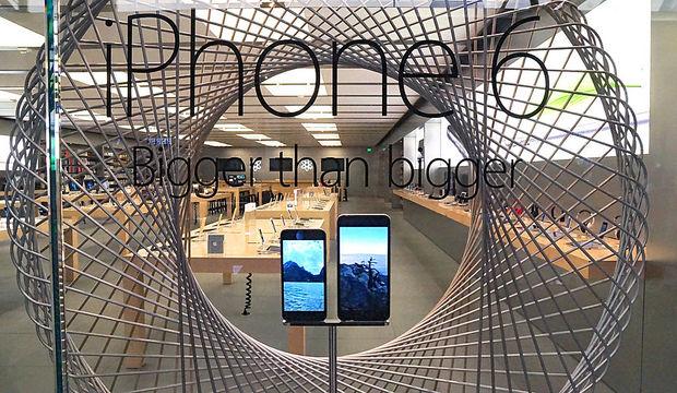"""iphone-6-plus Usuários do iPhone e o admirável mundo """"novo"""" das telas grandes"""