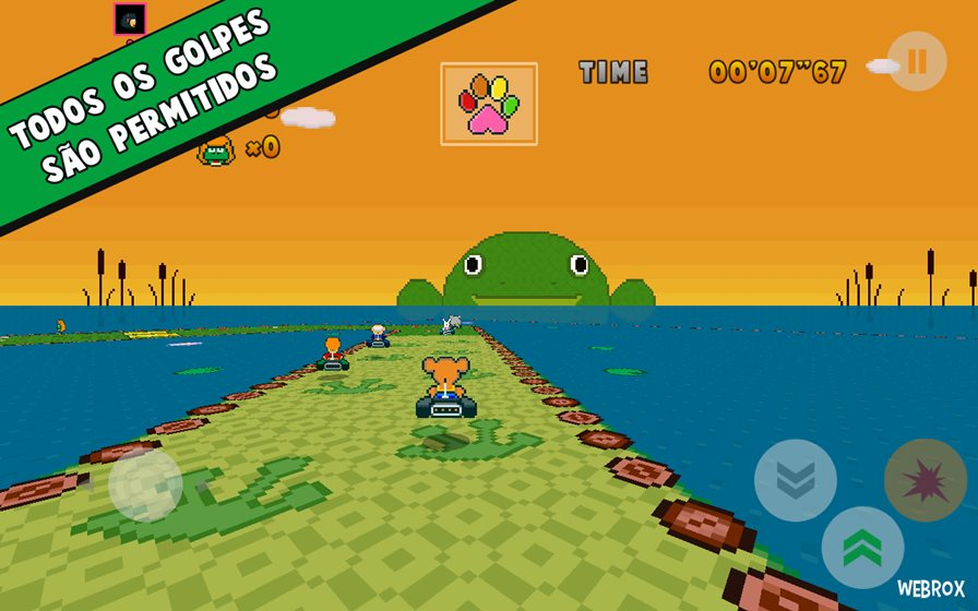 poppy-kart-2 Poppy Kart é um clone de Mario Kart do SNES (Android, iOS e WP)