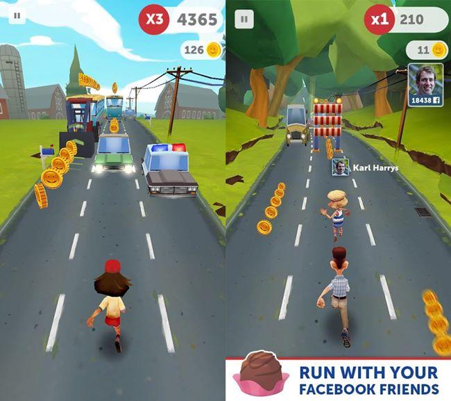 "run-forrest-run Run Forrest Run é o jogo oficial do filme ""Forrest Gump"" (Android e iOS)"