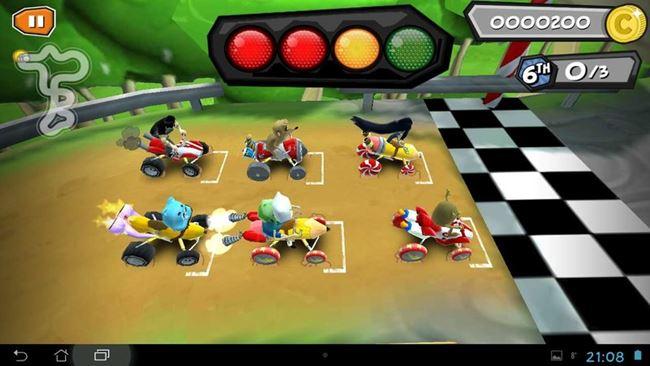 Formula-Cartoon-All-Stars Dia das crianças: 10 Jogos Grátis para Crianças de Todas as Idades (Android e iOS)