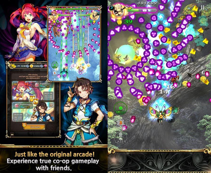 bug-princess-duel-1-horz Dodonpachi e Bug Princess: Jogos da Cave voltam ao Android