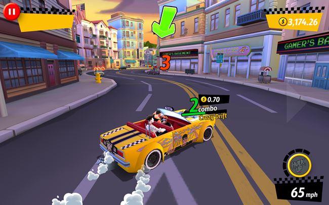 crazy-taxi-rush-android 25 Melhores Jogos de Mundo Aberto OFFLINE do Android e iOS