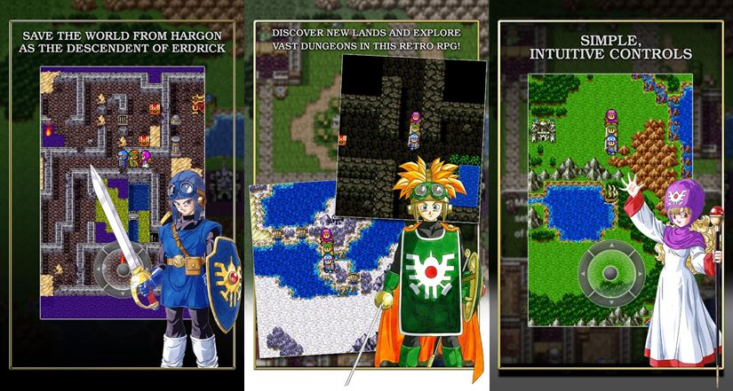 dragon-quest-2-1-horz O lendário Dragon Quest 2 chega ao Android e iOS com preço convidativo